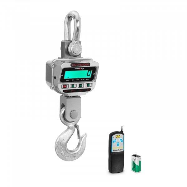 Crane Scale - 10 t / 2 kg - LCD - 150 h