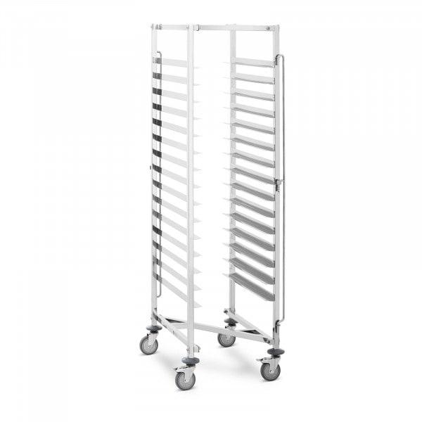 Tray Trolley - 15 slots - 150 kg