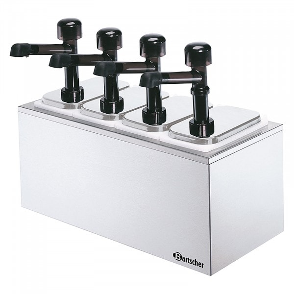 Gesamtansicht von Bartscher Pumpstation - 4 Pumpen 4x 3,3L