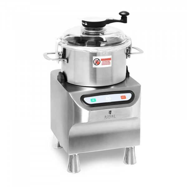 Bowl Cutter - 1500 rpm - Royal Catering - 5 L
