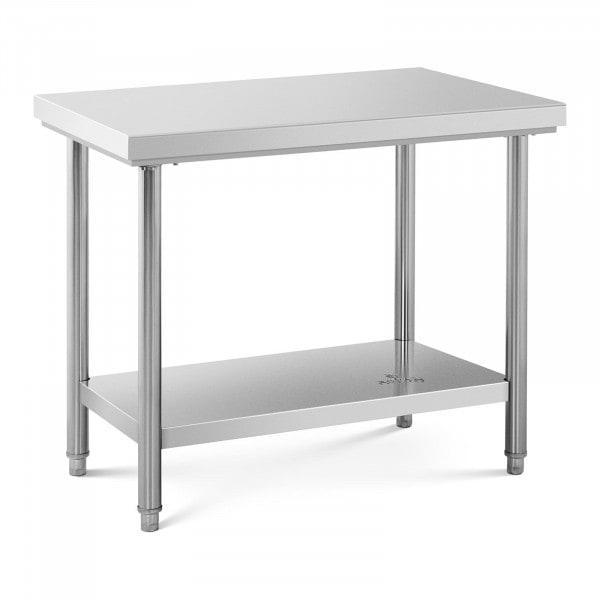 Stainless Steel Work Table - 100 x 60 cm - 90 kg capacity