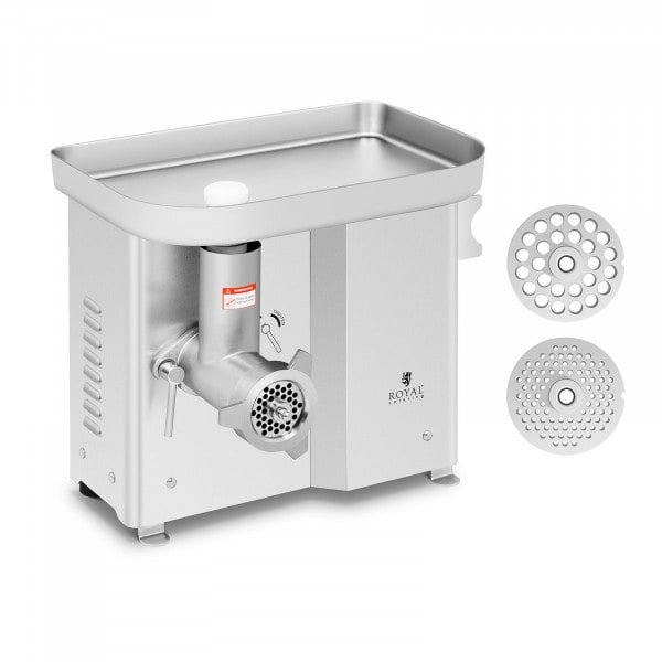 Meat Grinder - stainless steel - 150 kg/hr - with reverse gear