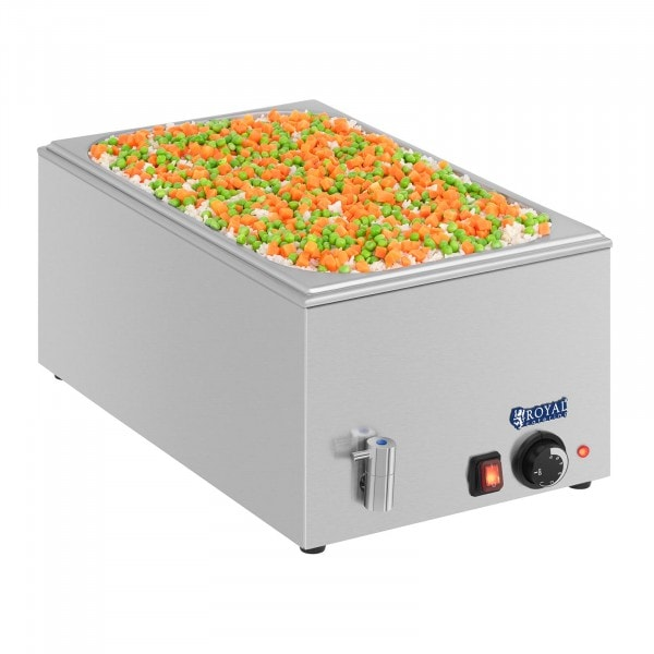 Bain-marie - GN 1/1 - without container - drain tap