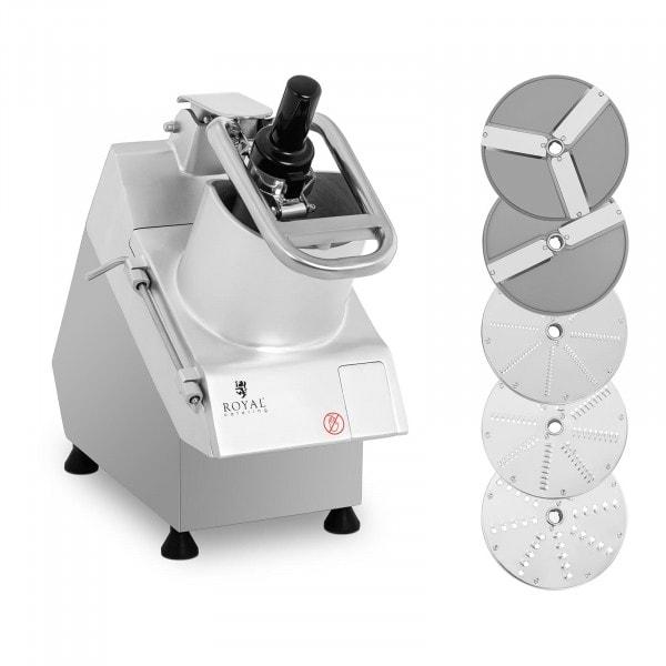 Electric Vegetable Cutter - 750 W - 5 cutting discs - Ø 205 mm