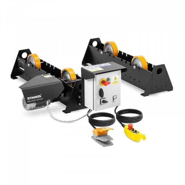 Welding Positioner - 370 W - diameter tubes: 40-2000 mm - 3,000 kg - foot pedal