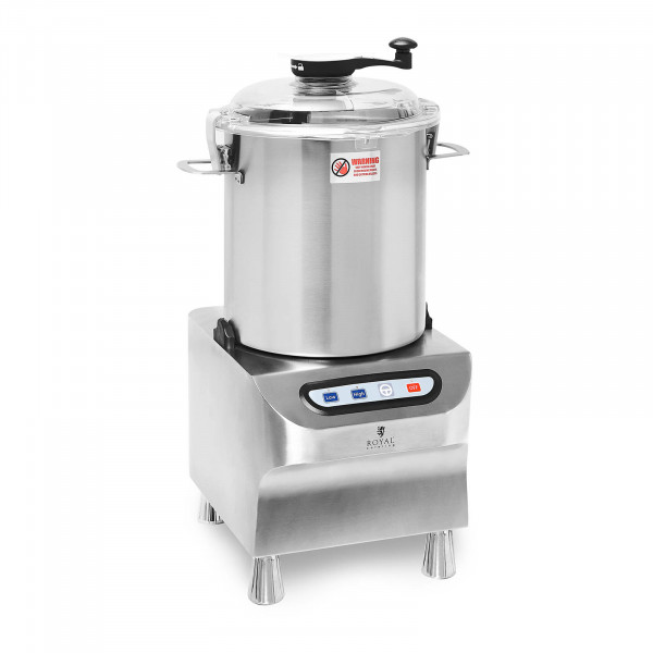 Bowl Cutter - 1500/2200 rpm - Royal Catering - 18 L
