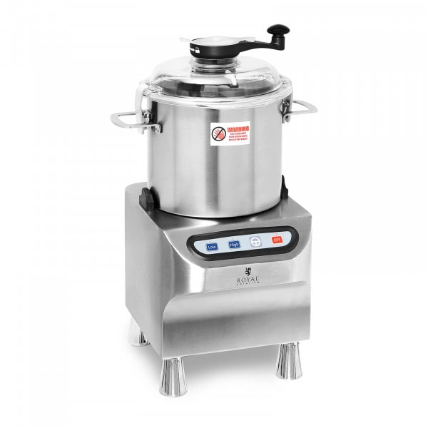 Bowl Cutter - 1500/2800 rpm - Royal Catering - 8 L