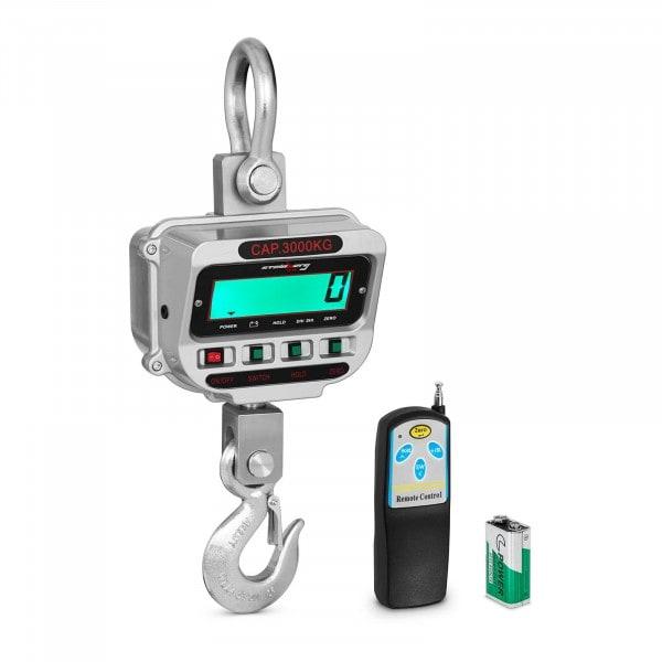 Crane Scale - 3 t / 0.5 kg - LCD