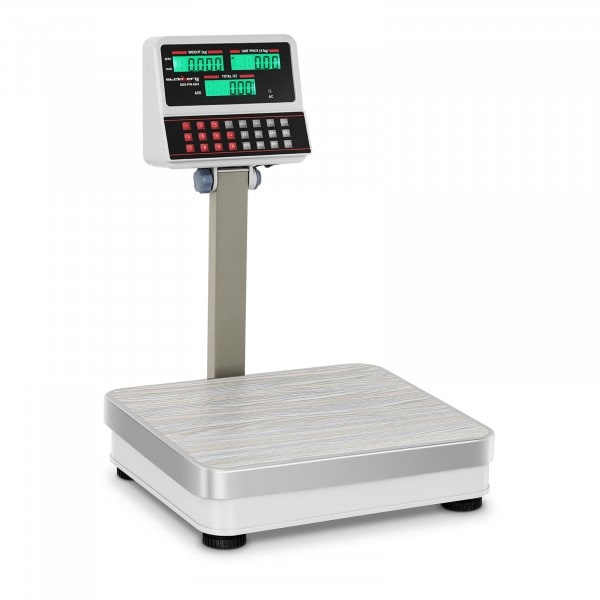 Digital Weighing Scale with Raised LCD Display - 60 kg / 5 g