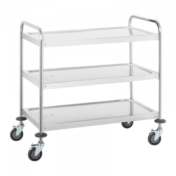 Serving trolley - 3 trays - up to 150 kg