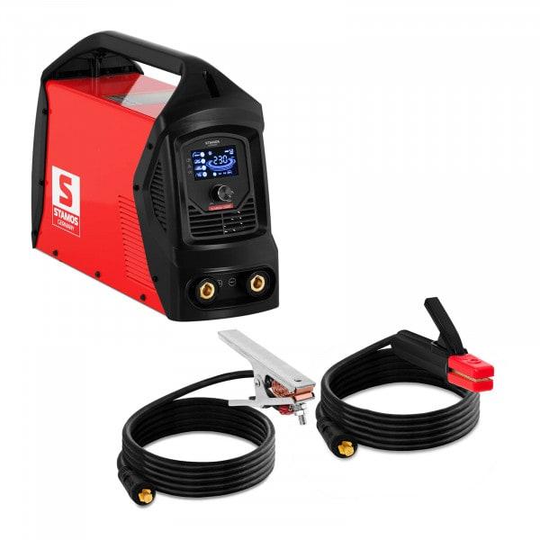 MMA welding machine - 230 A - LCD - Hot Start - Arc Force - Handle