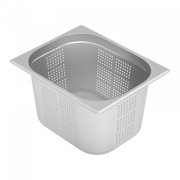 Gastronorm Tray - 1/2 - 200 mm - Perforated