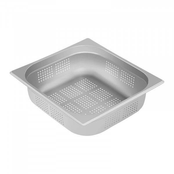 Gastronorm Tray - 2/3 - 100 mm - Perforated
