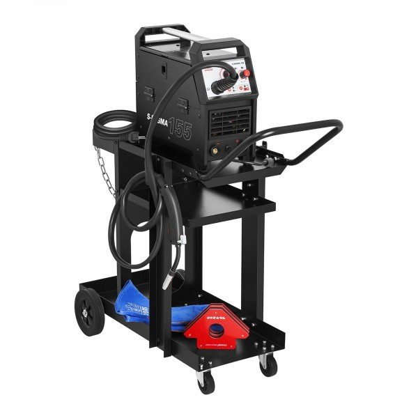 Welding Cart - Flat - 3 Compartments - 75 kg