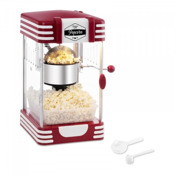 Popcorn Maker - 50's Retro Design - Red