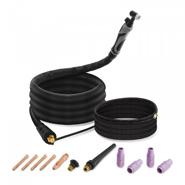 TIG-Welding Torch with Cable Assembly and Liftarc - 4 m