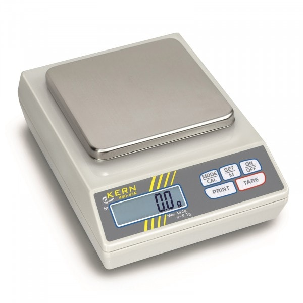 KERN Laborwaage - 440 g / 0,1 g - 14005 - 1