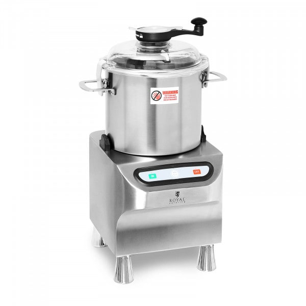 Bowl Cutter - 1500 rpm - Royal Catering - 8 L