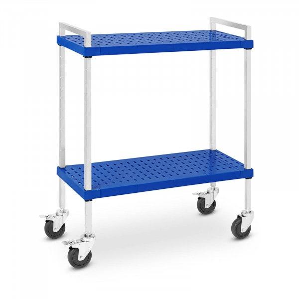 Service Cart - 2 shelves - 50 kg - 37.5 x 86 cm - ideal for GN pans