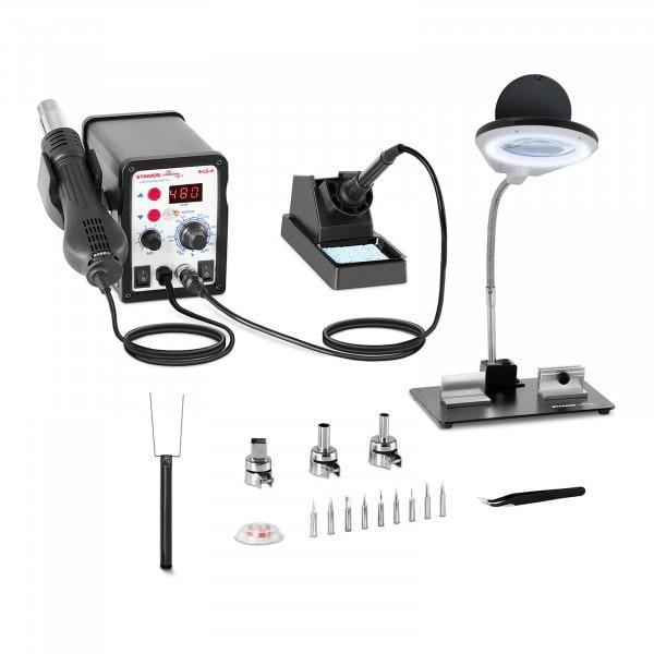 Set Soldering Station - 60 Watt - LED Display + Accessoires
