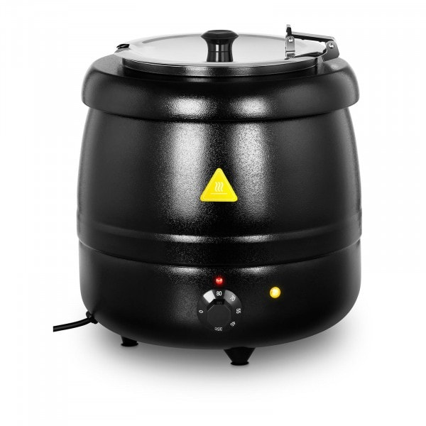 Soup Kettle - 10 L - 400 W - black