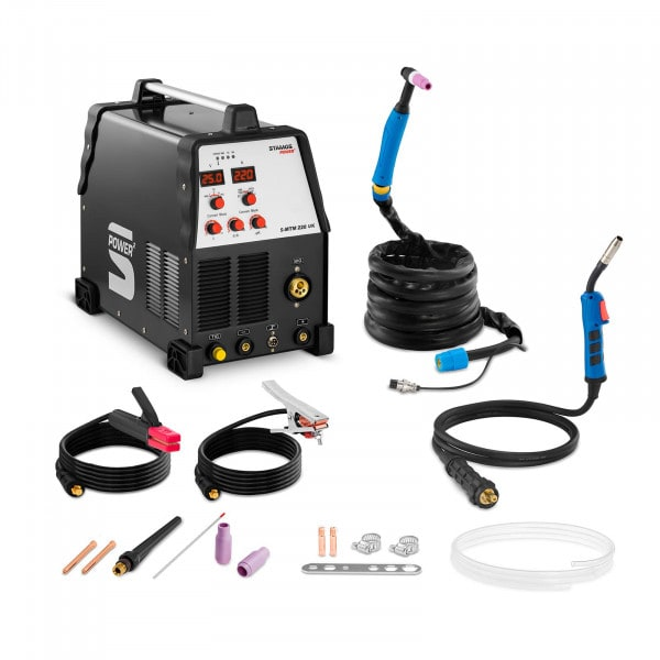 Combined Welder - 220 A - TIG - MIG - FCAW - MMA