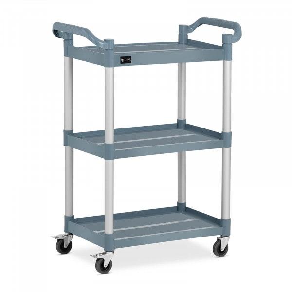 Service Cart - 3 shelves - 63 x 40 cm - 90 kg - grey