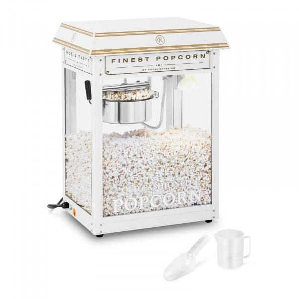 Popcorn Machine - white & gold