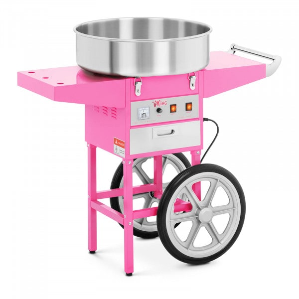 Candy Floss Machine with Trolley - 52 cm