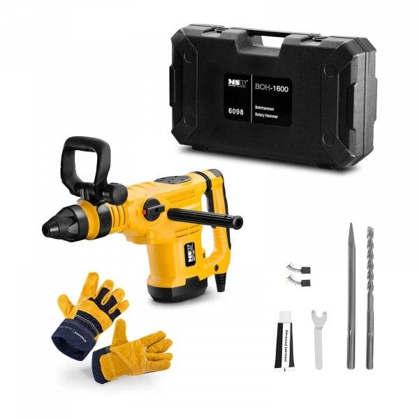Rotary Hammer Set BOH-1600-SET - Work gloves - 1,600 W