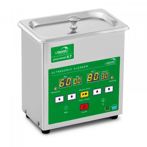 Ultrasonic Cleaner - 0.7 litres - Memory Quick