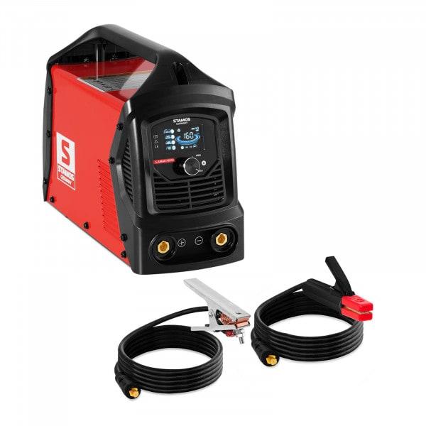 MMA welding machine - 160 A - LCD - Hot Start- Arc Force - Handle