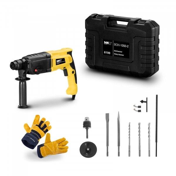 Rotary Hammer Set BOH-1050-2-SET - Work gloves - 1,050 W