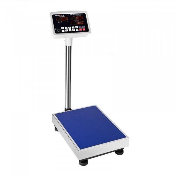 Anzeige von Plattformwaage - 100 kg / 10 g - LED - 3086 - 1