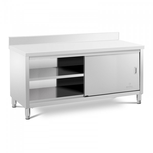 Work Cabinet - upstand - 180 x 70 cm - 600 kg load capacity