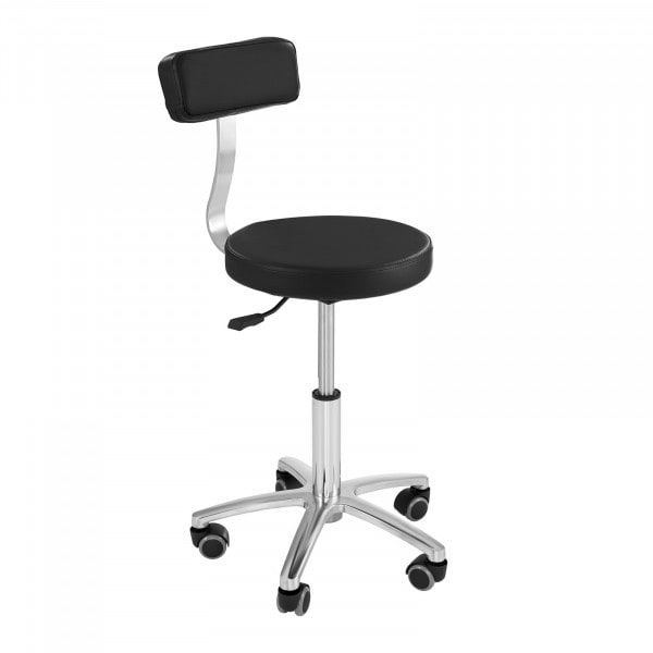 Factory seconds The hairdressers chair MONZA BLACK