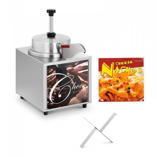 Sauce Dispenser - nacho cheese - chocolate - 4.5 L