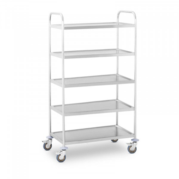 Serving trolley - 5 trays - up to 480 kg