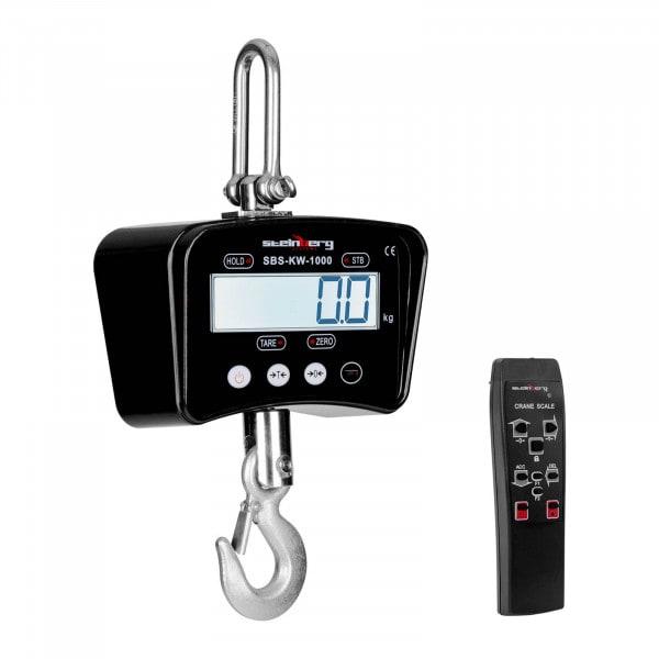 Crane Scales - 1.000 kg / 0.5 kg - black