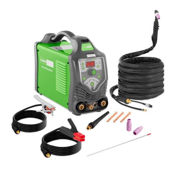 TIG Welder - 200 A - 230 V - pulse - digital - 2-/4-touch
