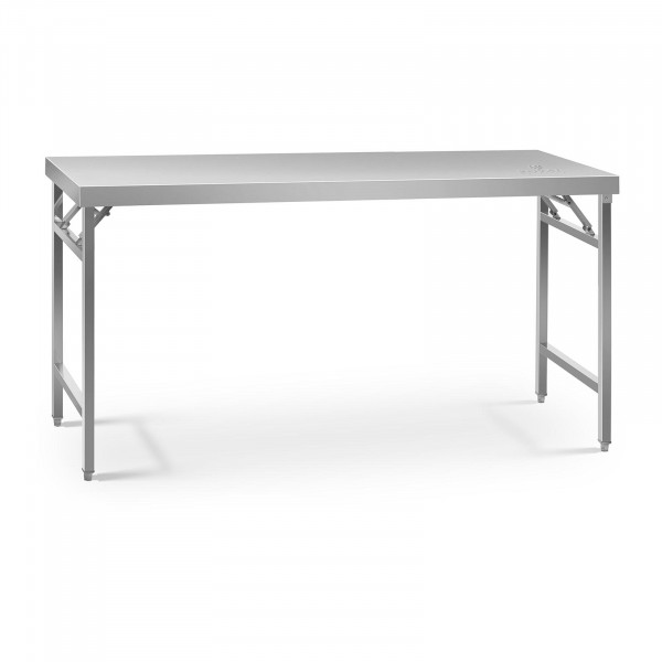 Folding Work Table - 60 x 180 cm - 230 kg load capacity