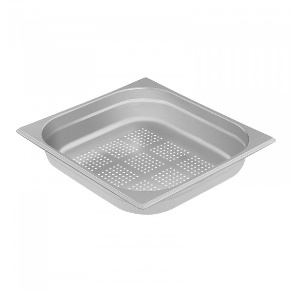Gastronorm Tray - 2/3 - 65 mm - Perforated