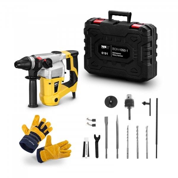 Rotary Hammer Set BOH-1050-1-SET - Work gloves - 1,050 W