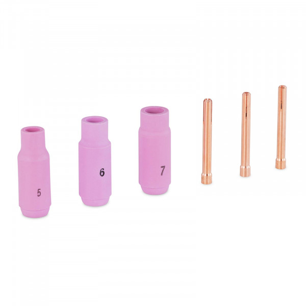 TIG Spare Parts Set - Welding Tips up to 3.2 mm