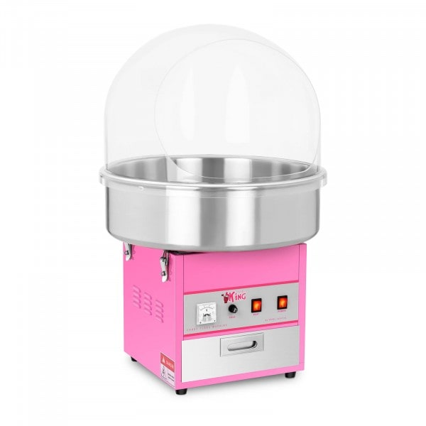 Commercial Candy Floss Machine - 52 cm - 1200 W - Spit Protection