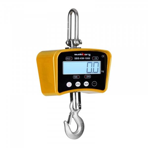 Crane Scales - 1.000 kg / 0.2 kg - yellow