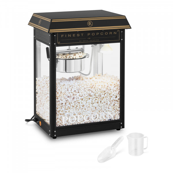 Popcorn Machine - black & gold