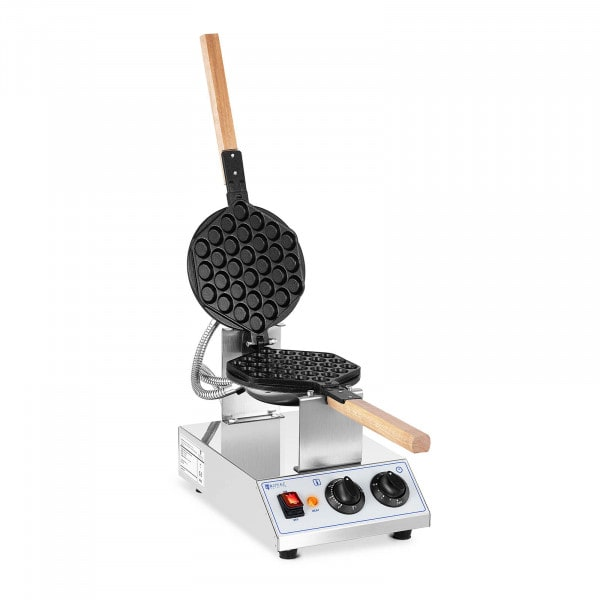 Bubble Waffle Maker - 1,415 W - Royal Catering - 50 - 250 ° C - Timer: 0 - 5 min