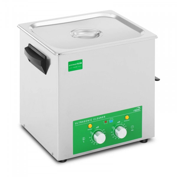 Ultrasonic cleaner - 10 litres - 180 W - Eco