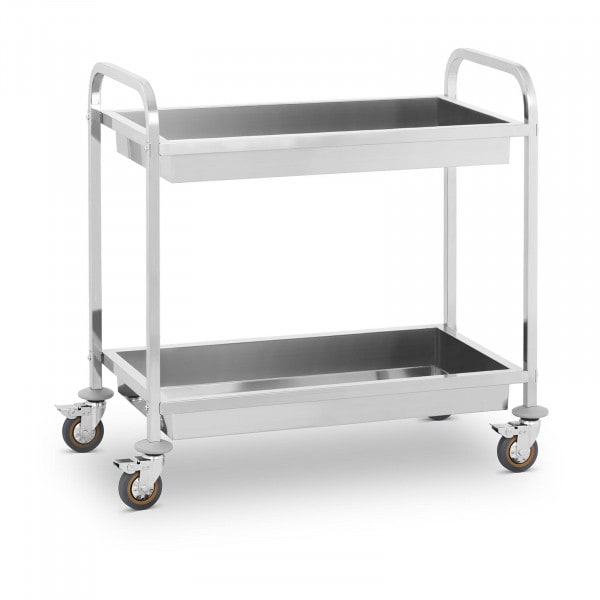 Serving Trolley - 2 Container Trays - up to 320 kg